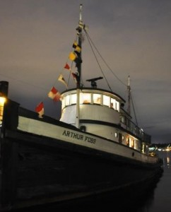 Overnight aboard Tugboat