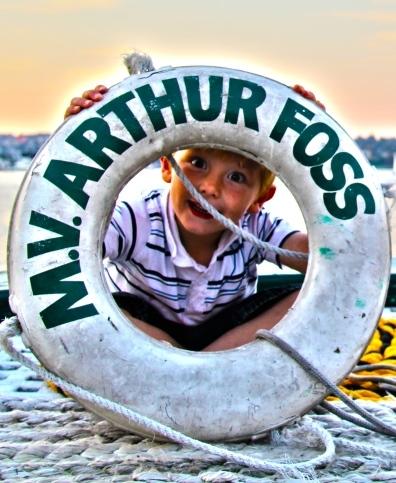Tugboat Boy Aboard Arthur Foss Christian Riddell3