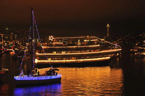 Christmas Ships at Holiday Lights 2
