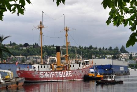Lightship No 83 Swiftsure Lake Union Drydock Co 2web